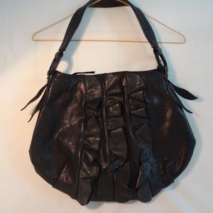 Handbags - Genuine Leather Boutique Purse with Red Lining